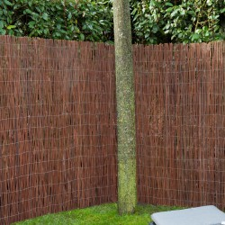 Occultation canisses en osier naturel 1,5x3m - ep 10mm - Willoo NATURE